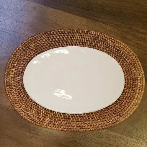 Handwoven Root Placemat