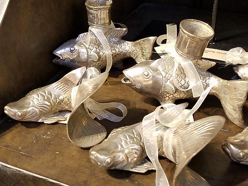 Silver Plated Fish