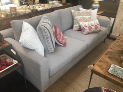 """Custom Sofa with Down Feather Fill, 84"""" x 36"""" x 32"""""""