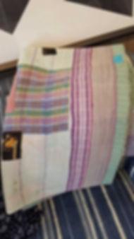 vintage, hand, sewn, kantha, quilt, throw, cotton, orange, hot, pink, stitch, stitched, hand, made, 20190423_131259_1024.jpg