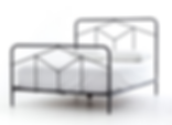 4, iron, bed, bedframe, frame, queen, king, twin, Ojai, California, design, interior, designer, new, triangle, graphic, simple, basic, beautiful, cool, awesome, elegant
