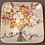"""Thumbnail: Square Stoneware Plate, 4-1/2"""""""