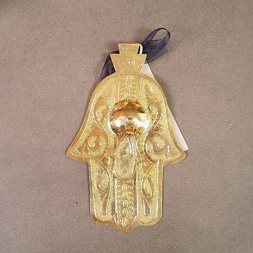 Brass Double Hamsa Hand