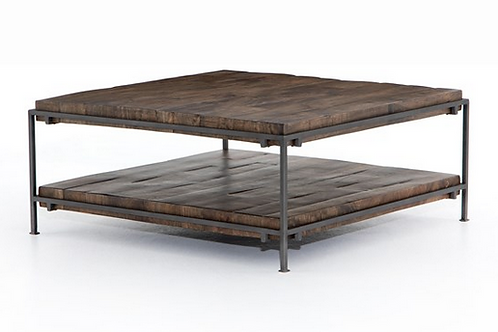 Mango and Iron Coffee Table
