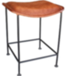 AL335, foley,  leather, stool, dining, counter, swivel, height, distressed, vintage looking, hand made, hand crafted