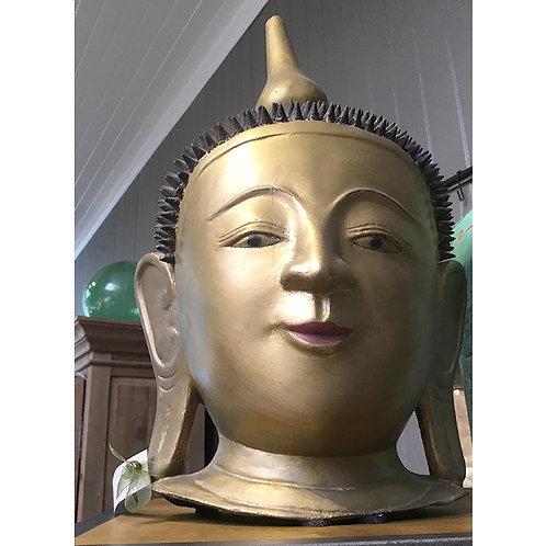 Burmese Buddha - Gold Paper Maché