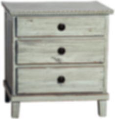 soren, dov1048, gray, grey, nightstand, side table, drawers, three drawers, wood, distressed, elm, reclaimed, repurposed, reused, Ojai, California, design, interiors, decor, home, bedroom