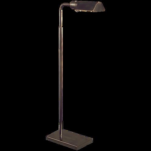 Adjustable Floor Lamp in Bronze or Brass