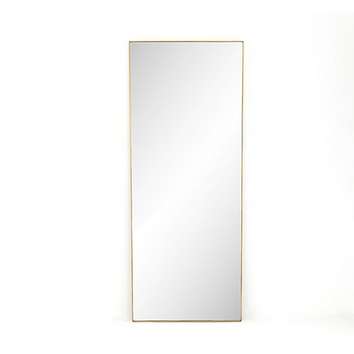 Rectangular Stainless Steel Mirror