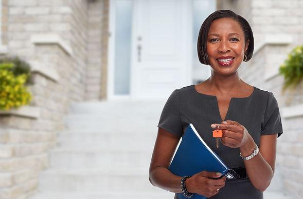 bigstock-African-American-realtor-woman-