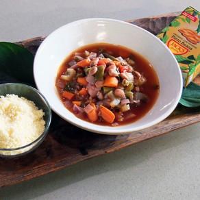 Pinto Bean Veggistrone