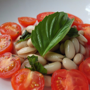 Tomato and Cannellini Bean Salad