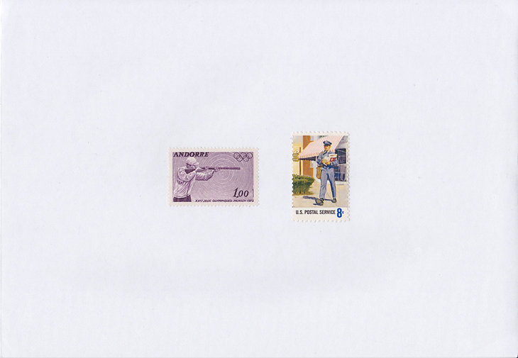 Going Postal #3_Retired postage stamps o