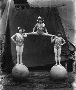 Victorian Pics - Balance Act