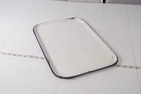 Surgical Medical White Enamel Tray