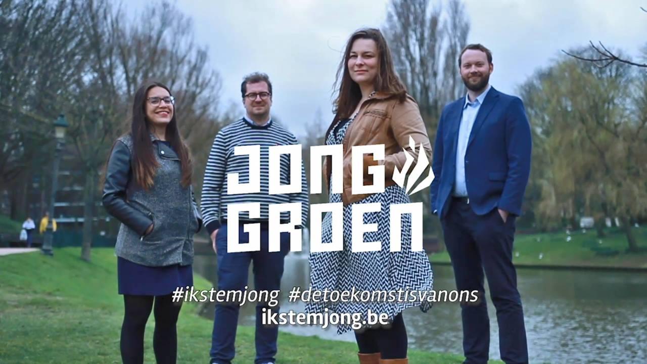 West-Vlaanderen kiest Jong Groen