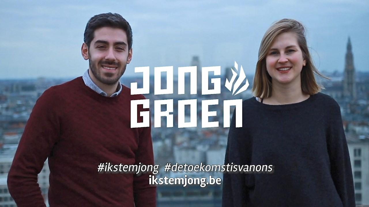 Antwerpen kiest Jong Groen