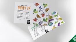 Updated 2021:  Dirty Dozen & Safe 15 Organic Produce List