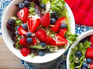 Berry-Cauli Field Green Salad