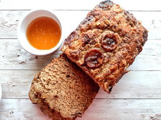 Refined-Sugar Free Banana Bread