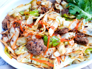Sauteed Beef N Cabbage