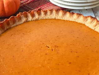 Dairy-Free/Sugar-Free Pumpkin Pie