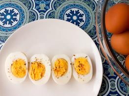 Hard boiled Pastured Eggs