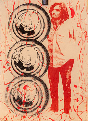 Billy Chainsaw's Reaperdelic 69 Print #22