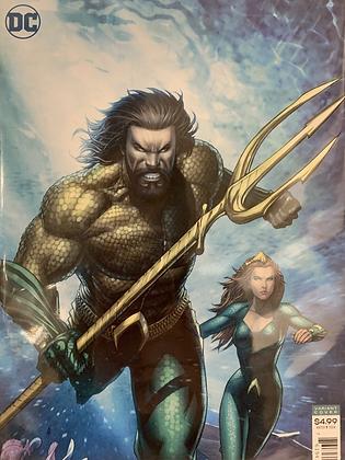 Aquaman/ Justice League Drowned Earth #1