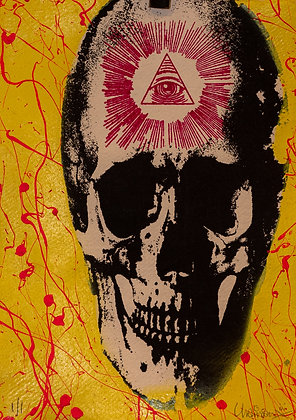 Billy Chainsaw's Reaperdelic 69 Print #25