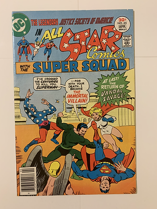All Star Comics #65