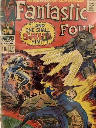 Fantastic Four #62
