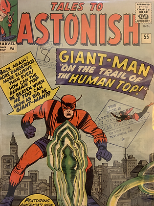 Tales To Astonish #55