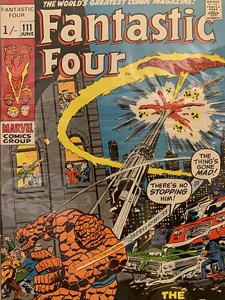 Fantastic Four #111