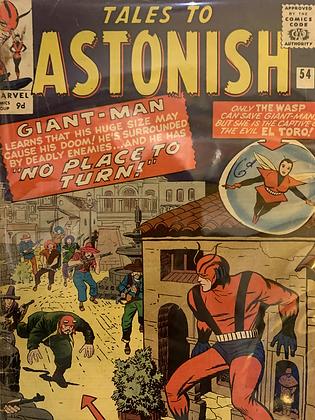 Tales To Astonish #54