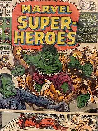 Marvel Super-Heroes #27