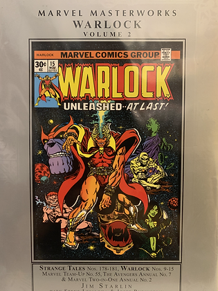 Marvel Masterworks Warlock Volume 2