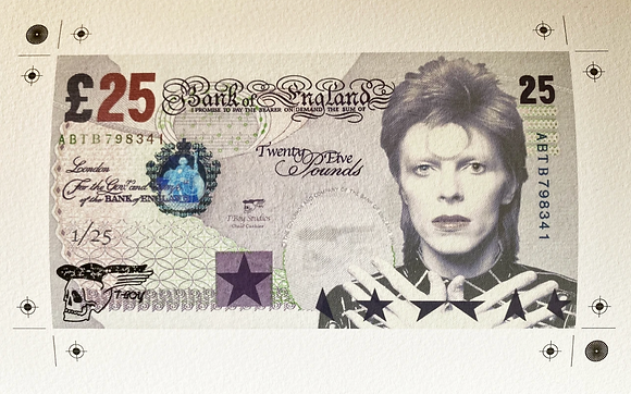 I could be Queen £25 Bank Note
