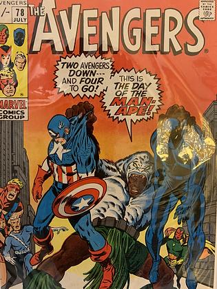Avengers #78