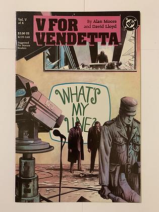 V For Vendetta #5