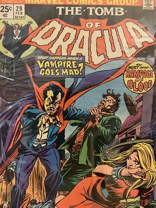 Tomb Of Dracula #29