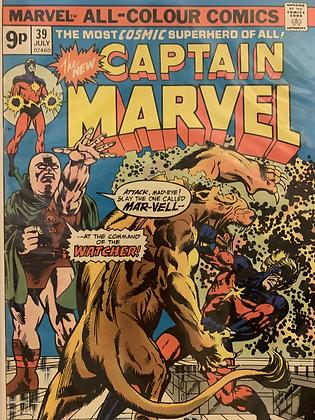 Captain Marvel #39