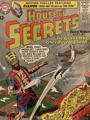 House Of Secrets #71