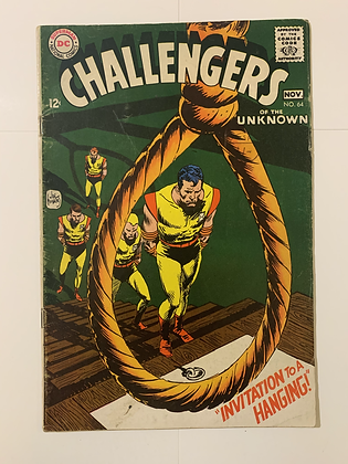 Challengers Of The Unknown #64