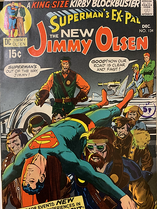 Superman's Pal Jimmy Olsen #134