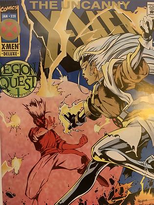 Uncanny X-men #320 (Gold Logo)