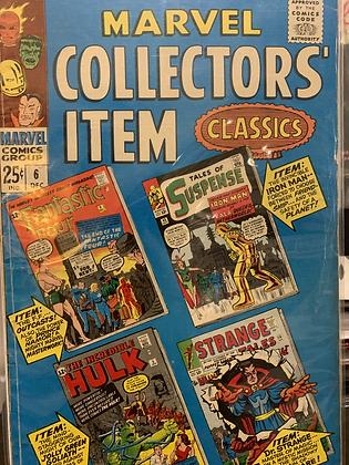 Marvel Collectors Item Classics #6