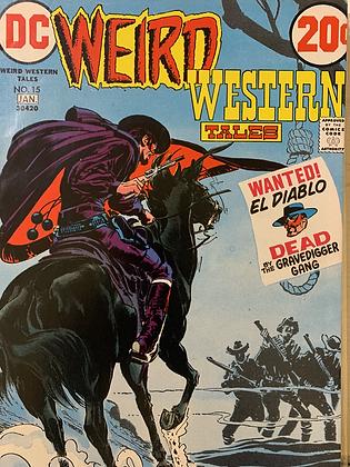 Wierd Western Tales #15