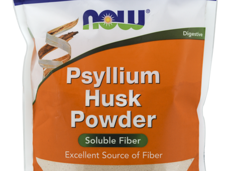 Psyllium Husk: the gut man!
