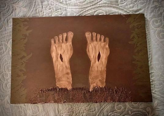 """14""""x22"""" Grounding Canvas - $100.00"""